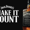 Jack Daniel's uses First Global Campaign to 'Make it Count'